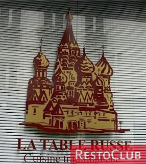 La Table Russe - PARIS 5EME ARRONDISSEMENT