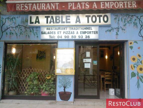 La Table à Toto - LA FARE LES OLIVIERS